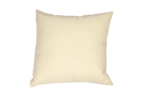 Photograph of Cream Nylon Cushion – 50cmSQ