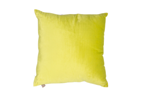 Photograph of Lime Green Cushion – 50cmSQ