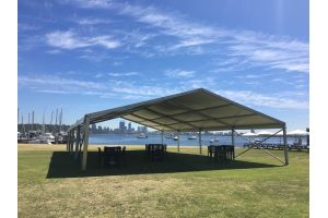 Photograph of Marquee White Roof – 12m x 15m