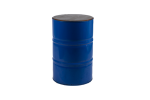 Photograph of Oil Barrel Blue – 60cmD x 90cmH