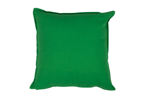 Photograph of Primary Green Cushion – 50cmSQ