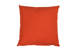 Photograph of Sunset Orange Cushion – 45cmSQ