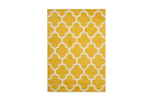 Photograph of Trellis Yellow Rug – 1.6m x 2.3m