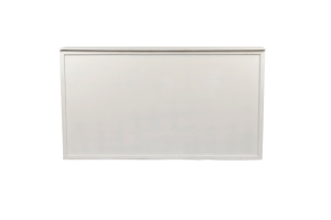 Photograph of White Bar with plain front – 2mL x 60cmD x 1.1mH (self standing)
