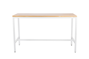 Photograph of Bench Cocktail Table with Light Wood Top