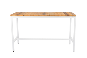 Photograph of Bench Cocktail Table with Pallet Top