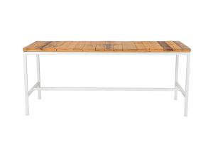 Photograph of Bench Dining Table with Pallet Top