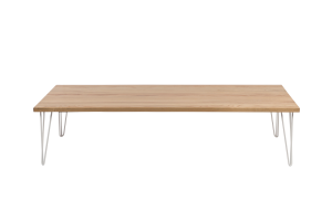 Photograph of Hairpin Coffee Table - Light Wood