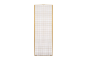 Photograph of Gold Wire Mesh Panel