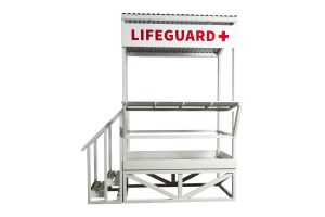 Photograph of Lifeguard Tower