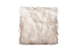 Photograph of Eva Faux Fur Cushion  – 43cmW x 43cmL