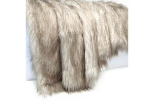 Photograph of Eva Faux Fur Throw  – 1.2mL x 1.5mW
