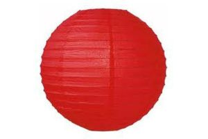 Photograph of Red Paper Lantern 50cmD