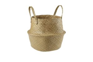 Photograph of Foldable Grass Sea Basket w/ Handle