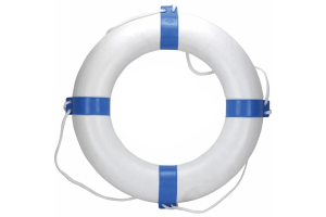 Photograph of Lifebouy Ring Blue & White