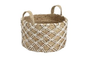 Photograph of Macrame Basket w/ Handles