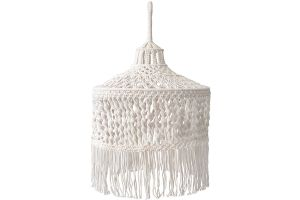 Photograph of Macramé Pendant Light Shade