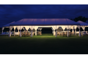 Photograph of Divyana Luxury Canopy with Sheers