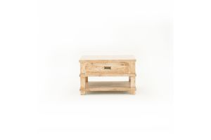 Photograph of Galley Bay Teak Coffee Table - Side