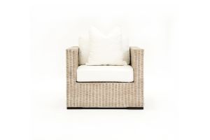 Photograph of Hamptons Arm Chair – 90cmW × 1mH × 70cmD