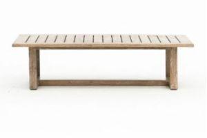 Photograph of Hamptons Coastal Teak Coffee Table – 1.2mL x 60cmW x 32cmD