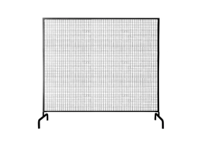 Photograph of Black Wire Mesh Backdrop – 2.4mW x 2.1mH