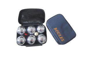 Photograph of Bocce Ball Yard Game – Silver