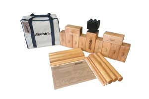 Photograph of Kubb Lawn Game