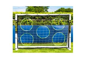 Photograph of Soccer Goal Post and Target Sheet – 1.8mW x 1.2mH