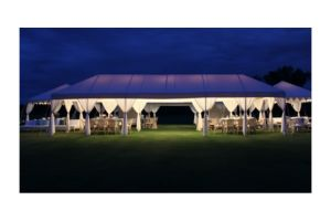 Photograph of Divyana Luxury Canopy with Sheers – 4m x 12m