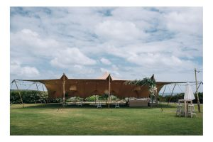 Photograph of Bedouin Stretch Tent Sand