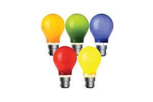 Photograph of Coloured Festoon Bulbs
