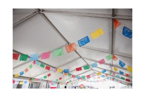 Photograph of Marquee Hocker White Roof – 10m x 27m