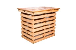 Photograph of Pallet High Cocktail Table