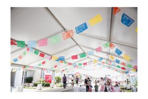 Photograph of Marquee Hocker White Roof – 10m x 18m