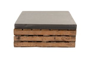 Photograph of Pallet Daybed Square with Cushion