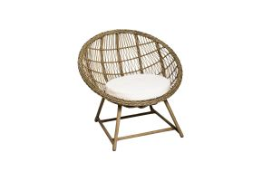 Photograph of Classic Rattan Scoop Chair