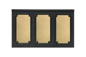 Photograph of Gold Mirror Inserts (for Black Wainscoting Bar)