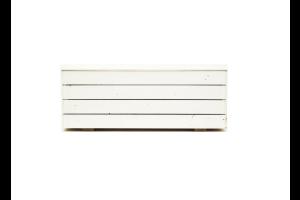Photograph of White Planter Boxes