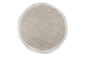 Photograph of Round Rug with Fringe – 1.8mD