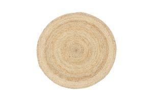 Photograph of Seagrass Round Jute Rug – 1.8mD