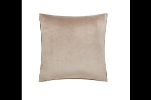 Photograph of Natural Velvet Cushion