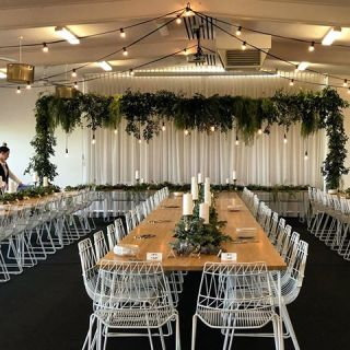 Instagram - Long tables and lush…