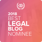 2018 Best Legal Blog Nominee