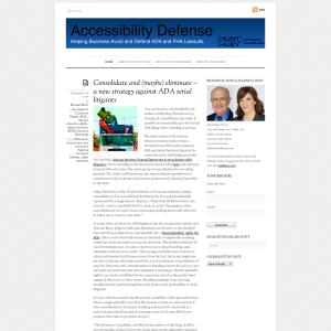 Accessibility Defense
