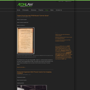 AEON Law Blog