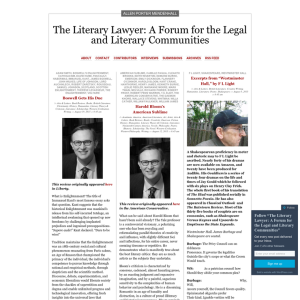 The Literary Lawyer