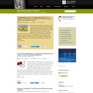 Asbestos Case Tracker