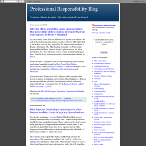 Professional Responsibility Blog