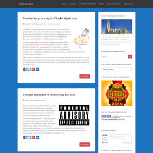 The Biederman Blog